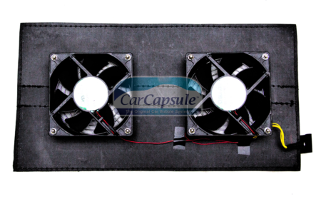 Double Outdoor Fan Panel